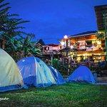 Patio, Jardin, Zona de Camping.