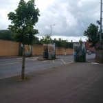 One of the gates separating Shankill and Falls. They close the gates each evening to keep peace.