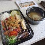 chirash lunch set $15