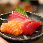 fresh sashimi!