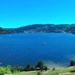 Repas vue Lac, magnifique!