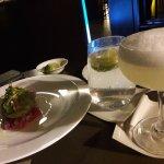 Margarita and Ceviche.
