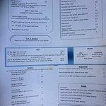 The Moorings Lunch menu p2