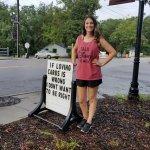 We love corny signs!