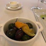 Delightful Olives as a starter