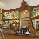 bar at The Barnacle Irish pub
