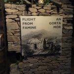 Irish famine ships museum.