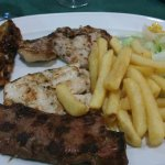 Mixed grill - at least 6oz sirloin
