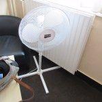 fan provided