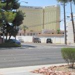 View from Room of Mandalay Bay, Desert Rose, Las Vegas, Nevada
