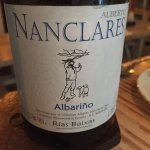 A terrific Albarino was an unexpected non-french wine treat