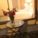 Balcón de la habitación matrimonial
