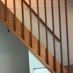 Steep stairs, not elderly friendly