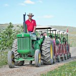Hop on a Johnny Popper Farm Tour to learn more about how the food you eat is grown!