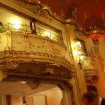 One of Boccaccio ballroom´s balconies