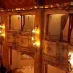 Boccaccio ballroom´s sideways balconies
