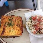 Moussaka & Greek Salad