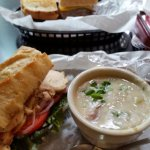 Hearty Soups and Sandwhichs