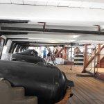 The gun deck