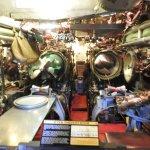 Torpedo room of the Torsk