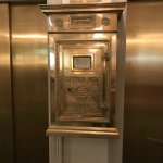Mailbox by elevator