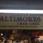 Sign in Lexington Market