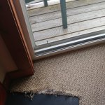 Torn carpet, looks innocent but it's not