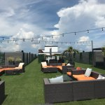 Rooftop Bar Area