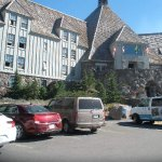 Entrance to Timberline Lodge