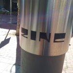 ZINC Restaurant pillar!