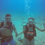 1st time scuba fun