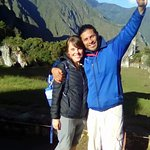 Rudi and I at Machu Picchu