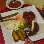 Traditional honduran breakfast...the best!