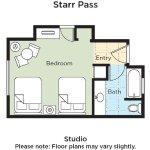 Starr Pass Studio Floor Plan