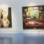 snapshot - exhibition of painting dedicated to the late King