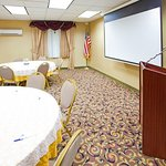 Use our LCD projector, podium and microphone to enhance your event