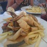 friture de plusieurs poissons