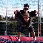 Fly young Samuel - a true junior 'Wild Guy'