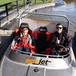 Two Sams in a Jet-boat!