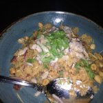stone crab and crispy rice