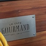 Good cafe Excelent chocolate no sugar Yummy pastry in Le Cafe Gourmand Wifi ok Ac Ok