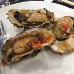 Black bean sauce oysters
