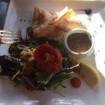salade de croustillants de crevettes