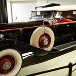 Classic car on display at Crawford Auto-Aviation museum