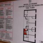 Plan einer Etage