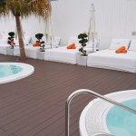 Hotel, terrace