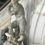 A statue of Hercules in Doge's Palace.