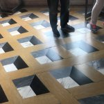 A really neat 3D effect in the floor.