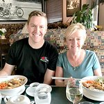 My nephew and my wife also enjoyed their lunches very much. Hot but not too spicy.