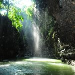 green canyon pangandaran west java indonesia in fantastic vew